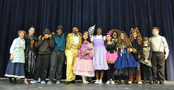 "Club Members - Cast of ""The Wiz"""