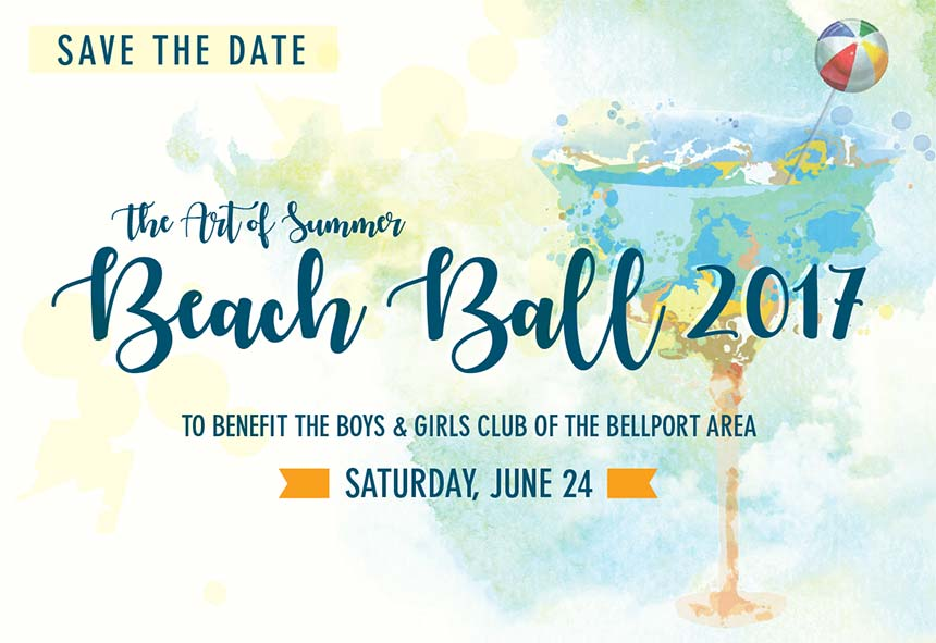 Beach Ball 2017. Boys and Girls Club of Bellport, NY